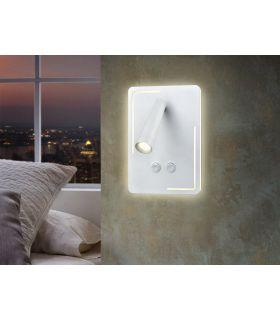Comprar online Aplique de Pared LED de Schuller color Blanco : Modelo GAEL