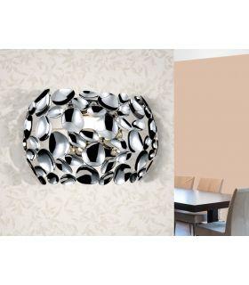 Apliques de Metal acabado Cromo de 2 luces : Coleccion NARISA