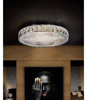 Plafones Led con Cristal Facetado : Colección DANA MD