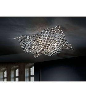 Comprar online Plafones de Diseño Moderno : Colección SATEN 5 luces
