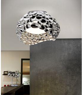Comprar online Plafones 5 luces de Metal Cromado : Colección NARISA