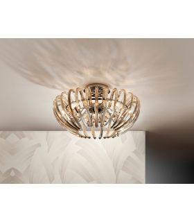 Comprar online Plafones de Cristal : Modelo ARIADNA champagne