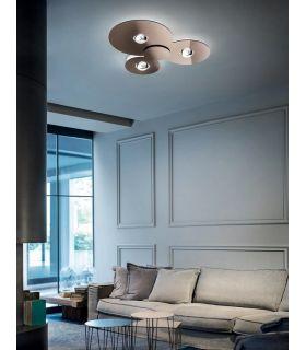 Comprar online Plafón de Diseño Moderno : Modelo BUGIA Triple