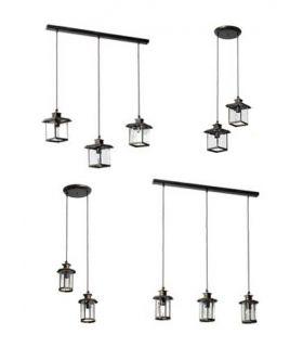 Comprar online Lámpara de techo Granadinas : Modelo AZAHAR transparente
