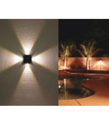 Apliques de Aluminio para Exterior LED : Modelo FOUNT