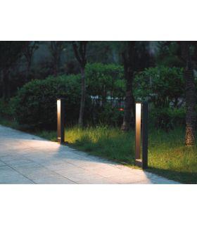 Comprar online Balizas LED de Aluminio para Exterior : Modelo AQUA Large