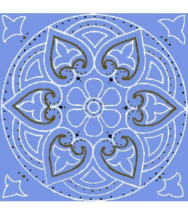 Mandalas Pintadas a Mano : Modelo BAROC