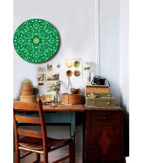 Comprar online Mandalas Artesanales de Cristal : Modelo GREEN
