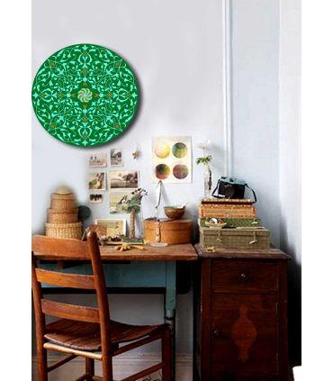 Mandalas Artesanales de Cristal : Modelo GREEN