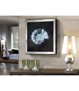 Comprar online Cuadro Decorativo con marco de espejo : Modelo FOSIL