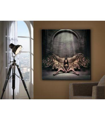 Cuadros con Fotos de Cristal : Modelo ANGEL CAIDO