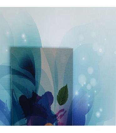 Cuadro en Lienzo y Aluminio : Modelo FLOWER