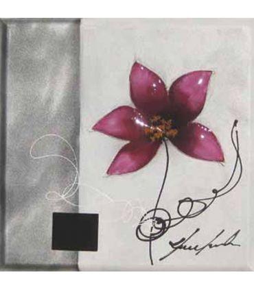 Pinturas sobre lienzo en tela : Modelo FLORES DUO