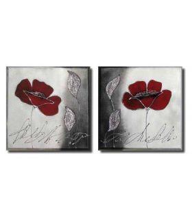 Comprar online Pinturas sobre lienzo en tela : Modelo ROSA