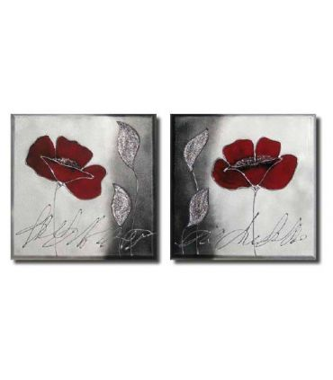 Pinturas sobre lienzo en tela : Modelo ROSA