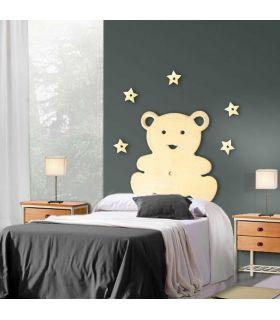 Comprar online Figura metálica de pared Modelo OSITO con 5 estrellas