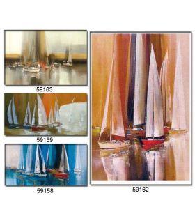 Comprar online Pintura Original sobre lienzo VELERO