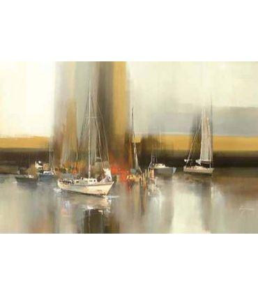 Pintura Original sobre lienzo VELERO