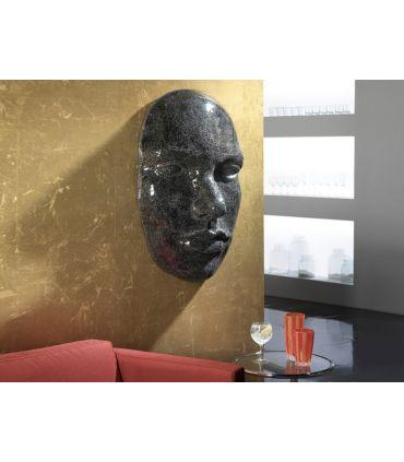 Mural decorativo con lunas de espejo : Modelo FAZ negro