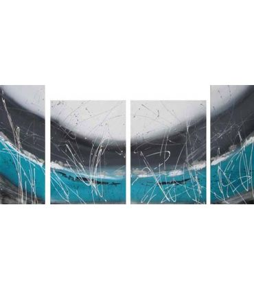 Polipticos sobre lienzo : Modelo UNIVERSE IV