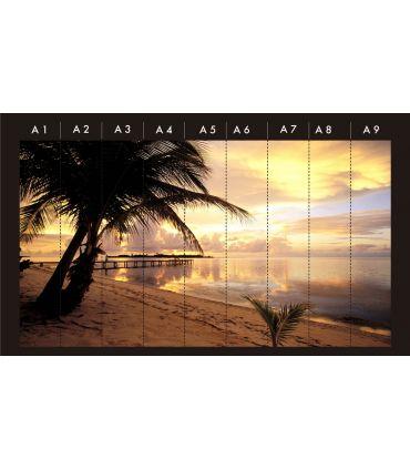 Murales Fotográficos : Modelo DOMINICANA BEACH