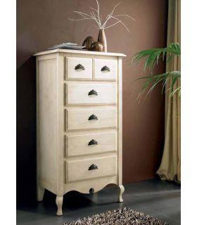 Comprar online Sifonier de madera de pino dormitorio VERSALLES.