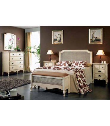 Sifonier de madera de pino dormitorio VERSALLES.