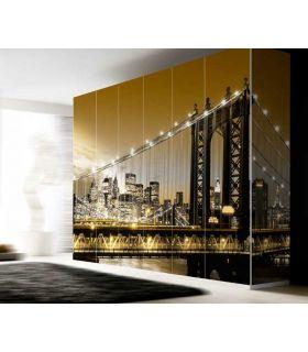 Comprar online Murales de Armarios y Puertas : colección BROOKLYN