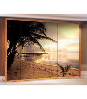 Comprar online Murales de Armarios y Puertas : colección DOMINICANA BEACH