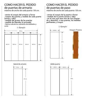 Murales de Armarios y Puertas : Modelo MOON