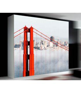 Comprar online Murales de Armarios y Puertas : Modelo GOLDEN GATE