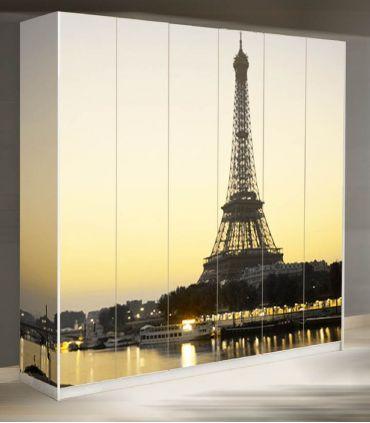 Murales de Armarios y Puertas : Modelo TORRE EIFFEL