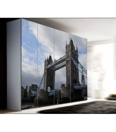 Murales de Armarios y Puertas : Modelo LONDON BRIDGE