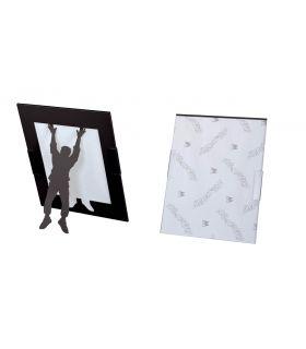 Portafotos de Metal : Modelo CLIMBER VERTICAL negro