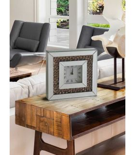 Reloj Cuadrado de Mesa con Lunas de Espejo : Modelo KORA