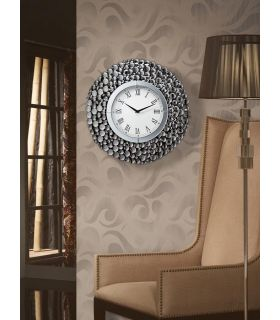 Comprar online Reloj de Pared con espejos facetados : Modelo VERONA