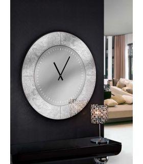 Comprar online Reloj Decorativo Redondo : AURORA Pan de Plata