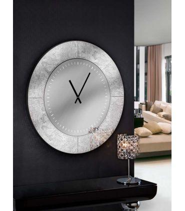 Reloj Decorativo Redondo : AURORA Pan de Plata