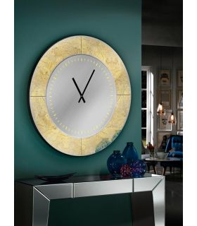 Comprar online Reloj Decorativo Redondo : AURORA Pan de Oro