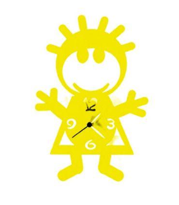 Reloj de Metal : Modelo BIBO Amarillo