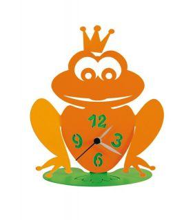 Comprar online Relojes Infantiles de Sobremesa : Modelo RANOCCHIO Naranja