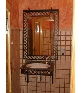 Comprar online Conjunto baño forja Mod. MANHATTAN FORJA SUSPENDIDO