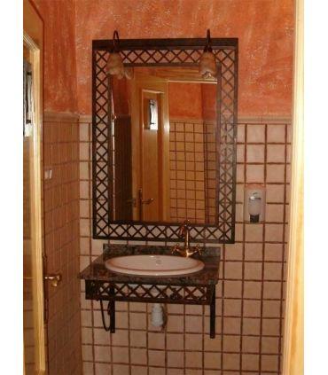 Conjunto baño forja Mod. MANHATTAN FORJA SUSPENDIDO