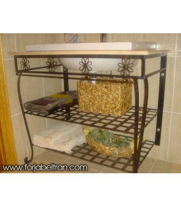Mueble para lavabo mod. MEDITERRANEO decoración Primavera