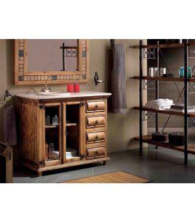 Comprar online Muebles de Baño Madera Natural : Colección TRONC