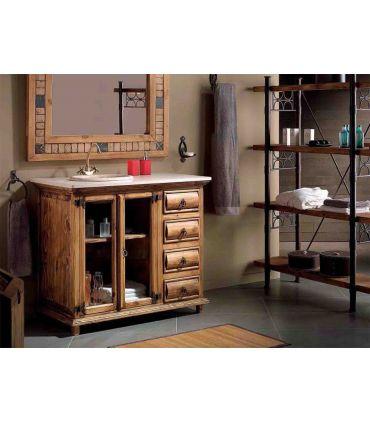 Muebles de Baño Madera Natural : Colección TRONC