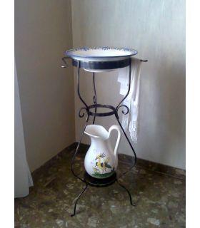 Comprar online Palanganero de Forja : Modelo LIBIA