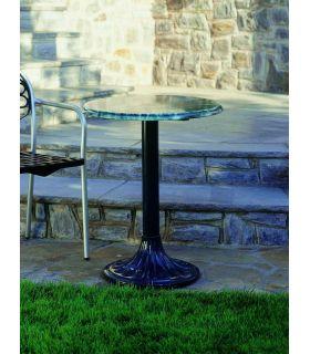 Comprar online Pie mesa de fundición Aluminio Mod. PALMERA redonda.