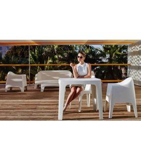 Comprar online Set de 4 Mesas de Diseño para Exterior : Colección SOLID