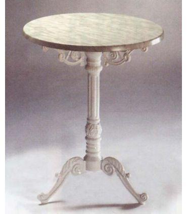 Pie mesa fundición Aluminio Mod. FLORENTINA
